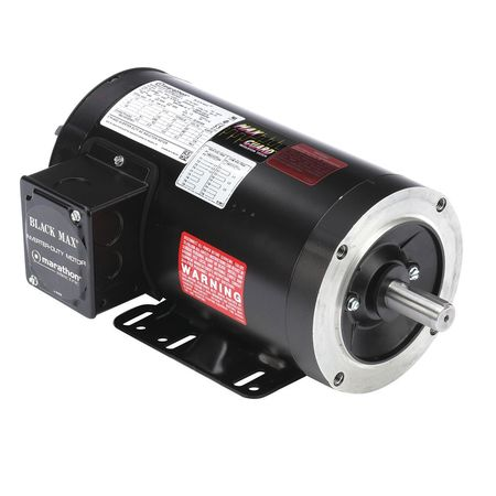 Vector Motor, 4.5 lb-ft, 1 HP, 230/460 V