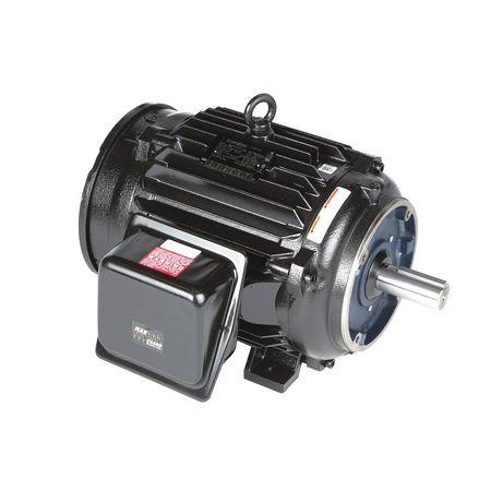 Vector Motor, 74.2  lb-ft, 25 HP, 230/460 V
