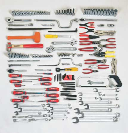 Master Tool Set, Add-On, 3/8 In.,  1/2 In.