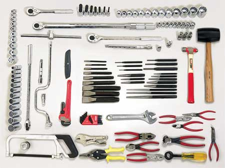 Master Tool Set, Add-On, 111, 1/2 In.