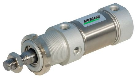 40mm Bore Round Double Acting Air Cylinder 100mm Stroke