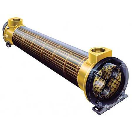 Heat Exchanger, Shell And Tube, 525K BTU