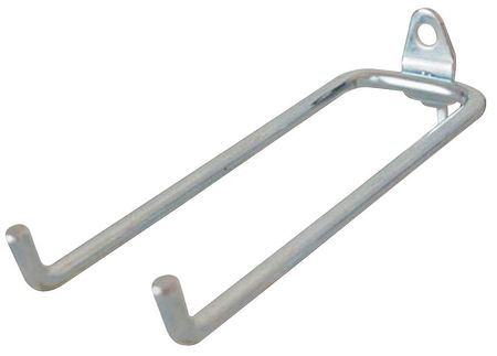Double Rod Pegboard Hook, 8-1/4 In, PK5