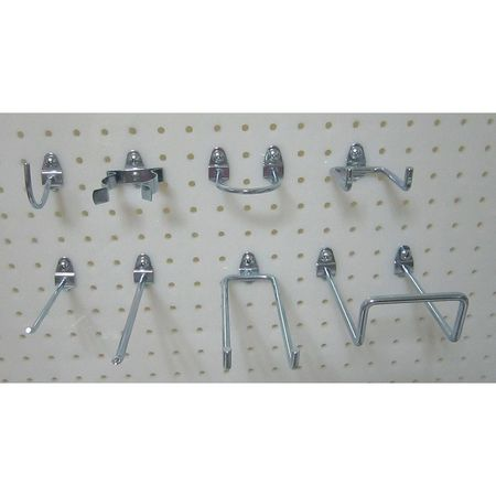 Pegboard Hook Assortment Kit, 12 Pieces