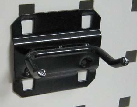 Double Rod Pegboard Hook, 1 In, PK5