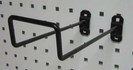 Double Closed-End Pegboard Hook, 8 In, PK5