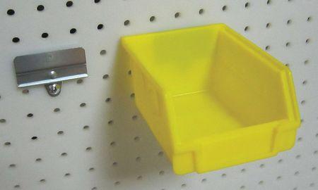 Pegboard Bin Kit, 3 x 4-1/8 x 5-3/8, PK24