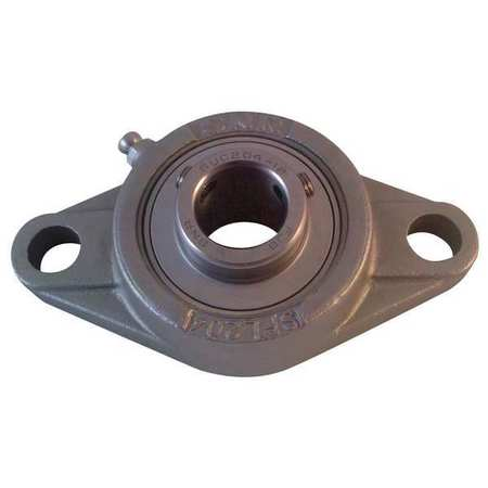"Flange Bearing, 2-Bolt, Ball, 1-7/16"" Bore"