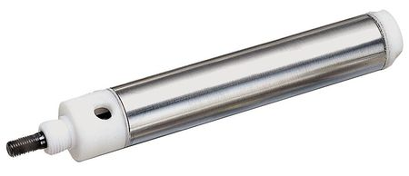 "9/16"" Bore Round Double Acting Air Cylinder 1-1/2"" Stroke"