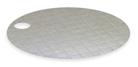 Drum Top Absorbent Pad, 22 In. W, PK25