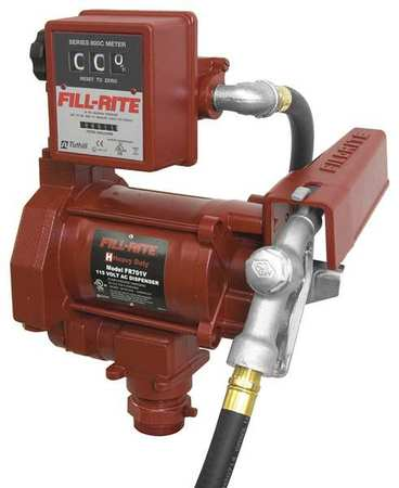Fuel Transfer Pump, 1/3 hp, 18 gpm