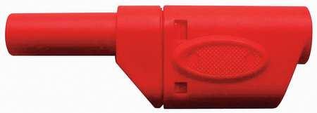 Banana Plug, 1000VAC, Red