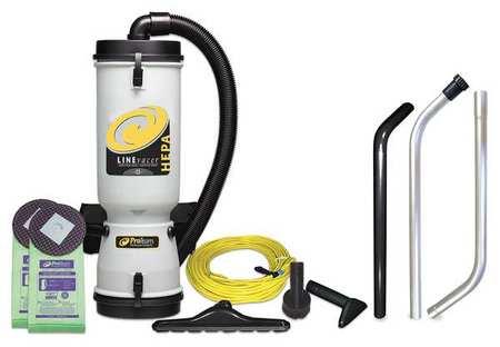 PROTEAM 10 qt. 120V,  744W Backpack Vacuum Cleaner