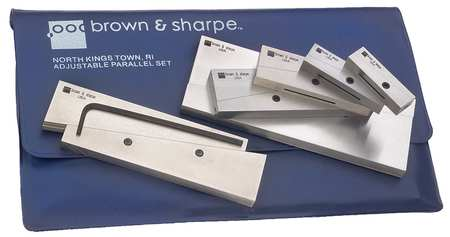 Adjustable Parallel Set, 3/8 to 2-1/4""