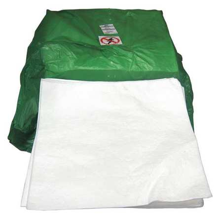 Absorbent Pads, 30 In. L, 30 In. W, PK50