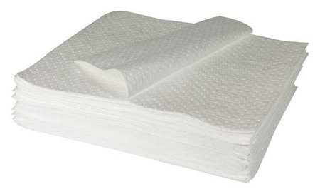 Absorbent Pads, 33 In. W, 39 In. L, PK50