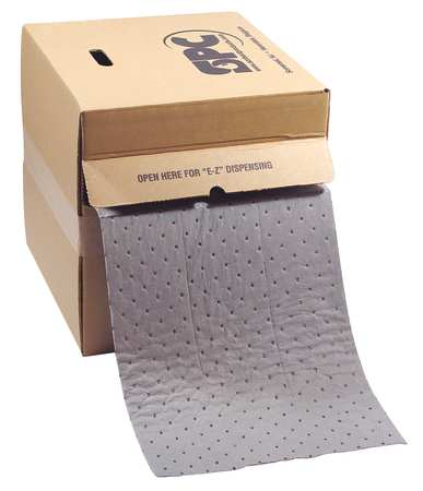 Absorbent Roll, 8 gal., 50 ft. L, 15 In. W