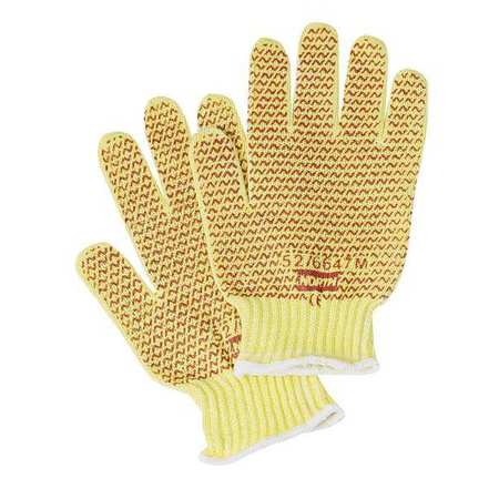Cut Resistant Gloves, Nitrile, L, PR