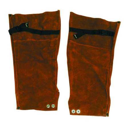 Flame Resistant Sleeve,  Brown,  Leather