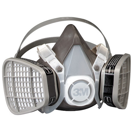 Half-Facepiece 5000 Series Disposable Respirators,  Prefilters,  and Filter