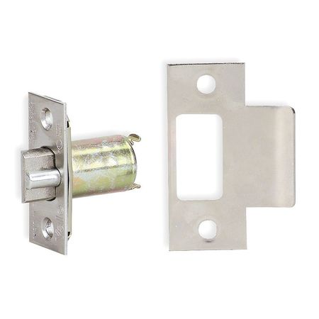 "Deadlatch,  Grad 2, 2-3/8"", Satin Chrome"