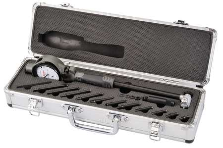 Bore Gage Set, 2-6 In, 0.0005 In Grad
