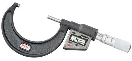 Electronic Micrometer, 2-3 In, 0.00005 Res