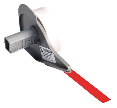 Tape, Red, 50 ft. L, 1/2 In. W