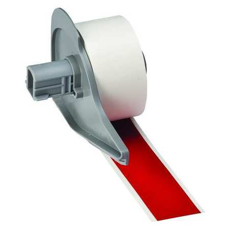 Tape, Red, 1 In. W, 50 ft. L