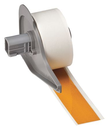 Reflective Tape, Yellow, 75 ft. L, 1 In. W