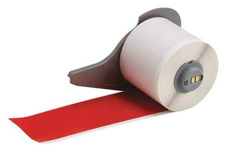 Tape, Red, 2 In. W, 50 ft. L