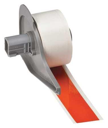Reflective Tape, Orange, 75 ft. L, 1 In. W
