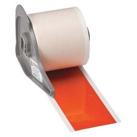 Reflective Tape, Orange, 75 ft. L, 2 In. W