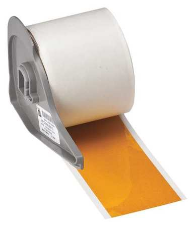 Reflective Tape, Yellow, 75 ft. L, 2 In. W