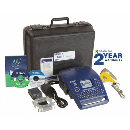 Portable Label Printer Kit, BMP71