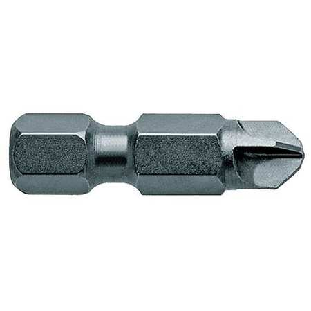 "Power Bit, SAE, 7/16"", Hex Power Drive, PK5"