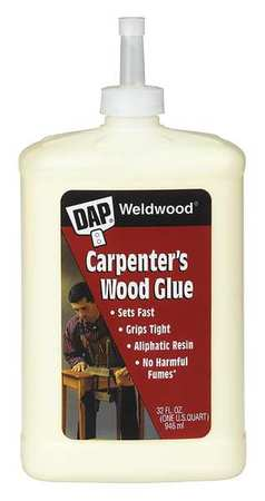 Weldwood Carpenters Glue, Yellow, 1 qt.