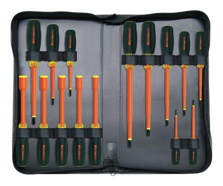 Insulated Screwdriver Set, 15 pc.