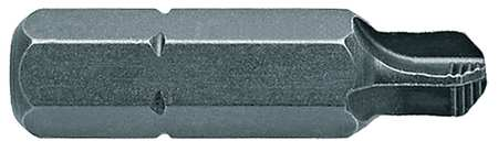 "Torsion Bit, SAE, 1/4"", Hex, #10, 1"", PK5"