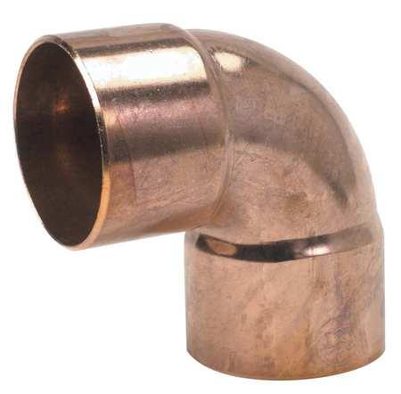"""3/8"""" NOM C Copper 90 Degree Close Rough Elbow"""