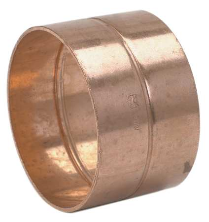 "1-1/2"" NOM C Copper DWV Coupling"