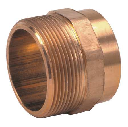 "2"" NOM C x 2"" MNPT Copper DWV Male Adapter"