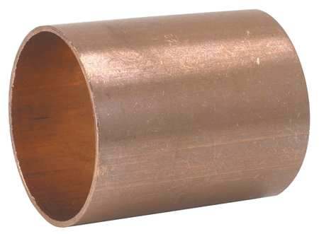 "1/4"" NOM C Copper Dimple Stop Coupling"