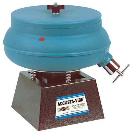 Vibratory Tumbler, Drain, Discharge, 115V