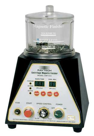 Centrifugal Magnetic Finisher, 2A, 4InDia.