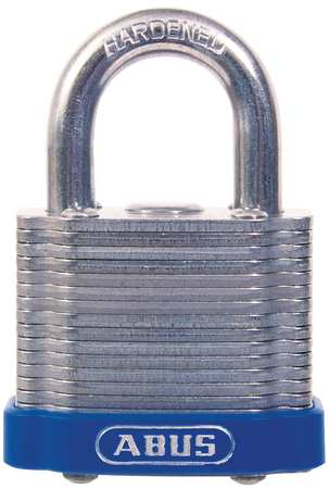 "Keyed Padlock, Different,  Master, 1-1/2""W"