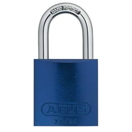 "Lockout Padlock, KA, Blue, 1-1/2""H"