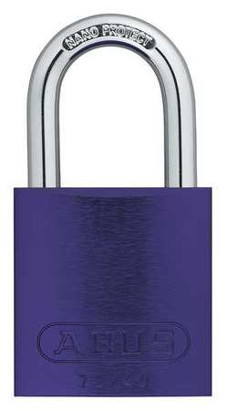 "Lockout Padlock, KD, Purple, 1-1/2""H"