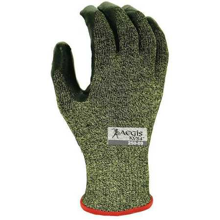 Cut Resistant Gloves, Yellow/Black, M, PR