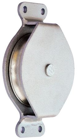 Pulley Block, Wire Rope, 570 lb Load Cap.